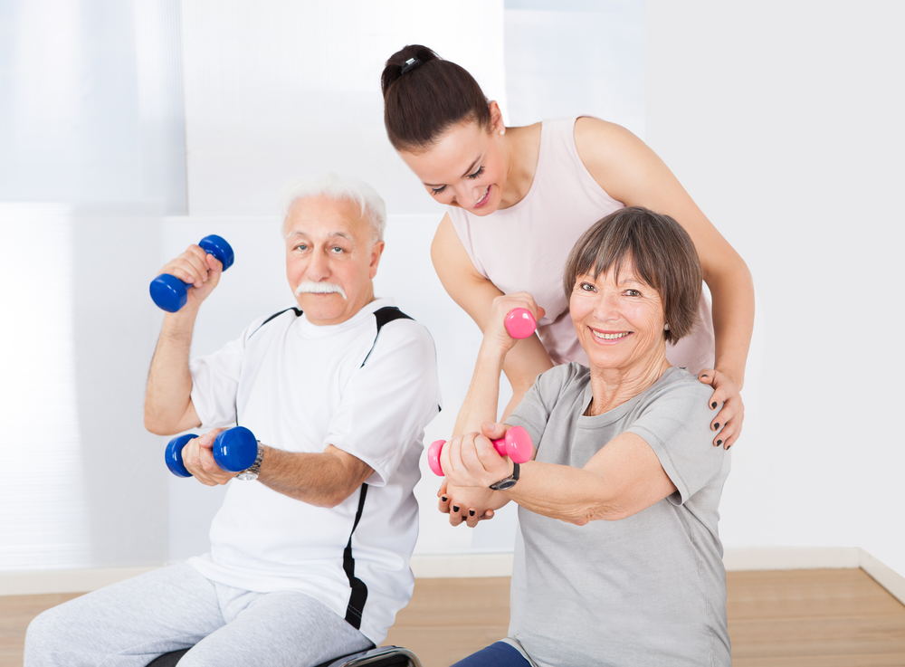 Utilizing Exercise To Keep Your Elderly Loved One Upright