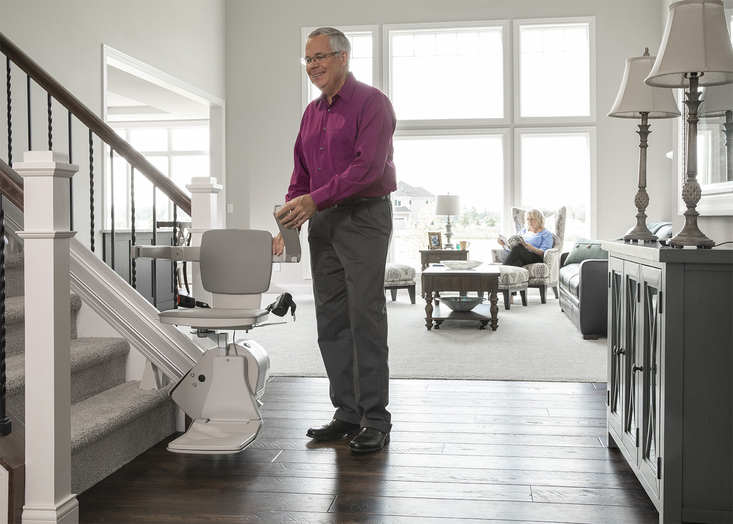 What Is The Most Suitable Stair Lift For Your Elderly Loved One?
