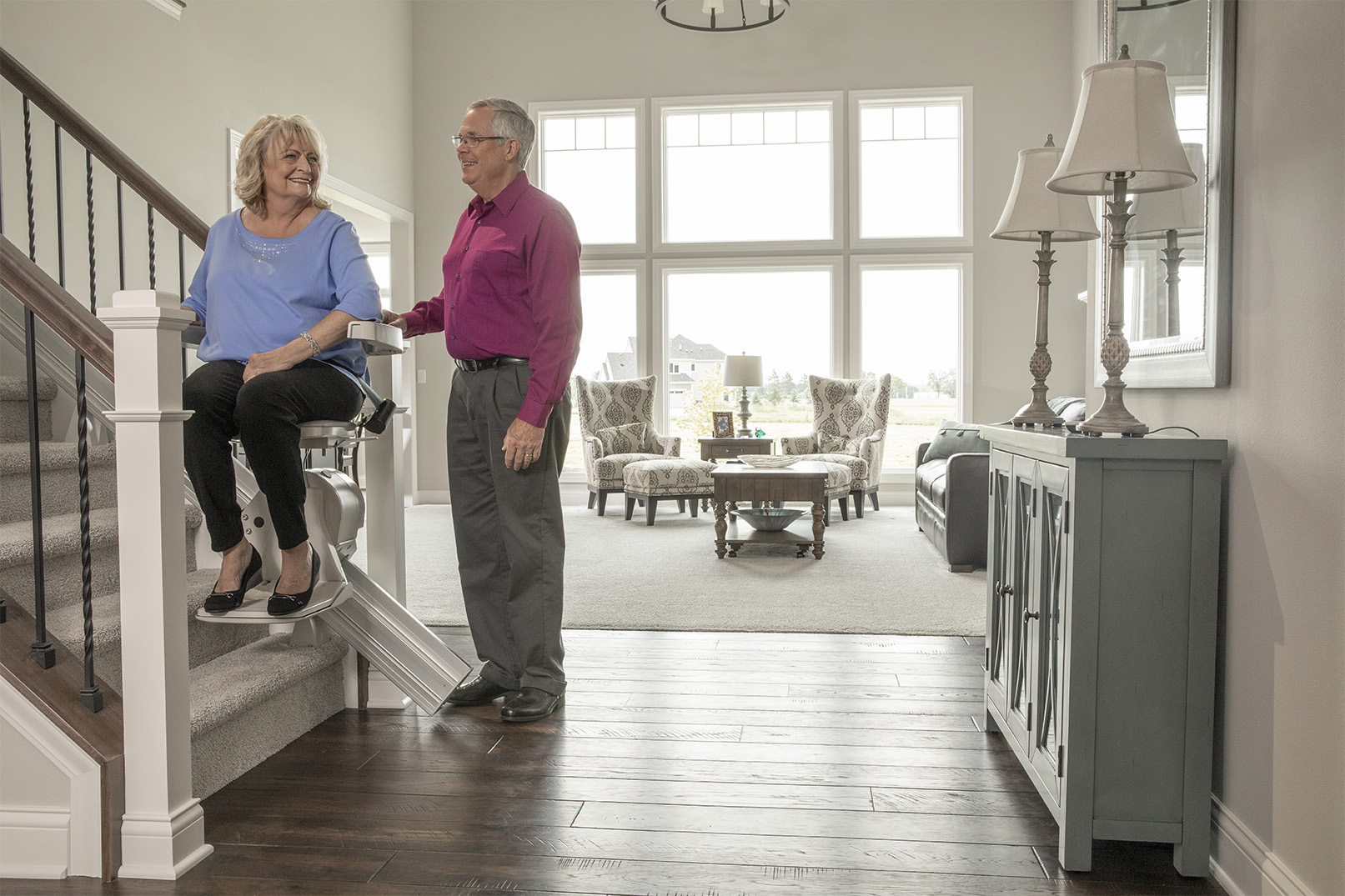 How A Stair Lift Makes Staying At Home So Much Easier